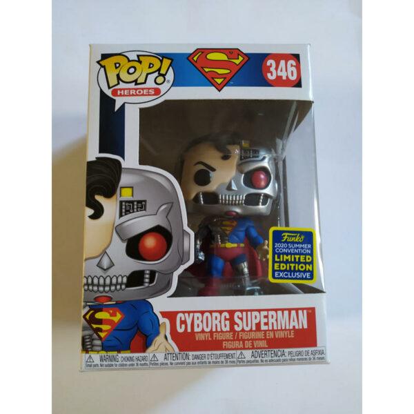 Figurine Pop DC Super Heroes 346 Cyborg Superman (Not mint) 1