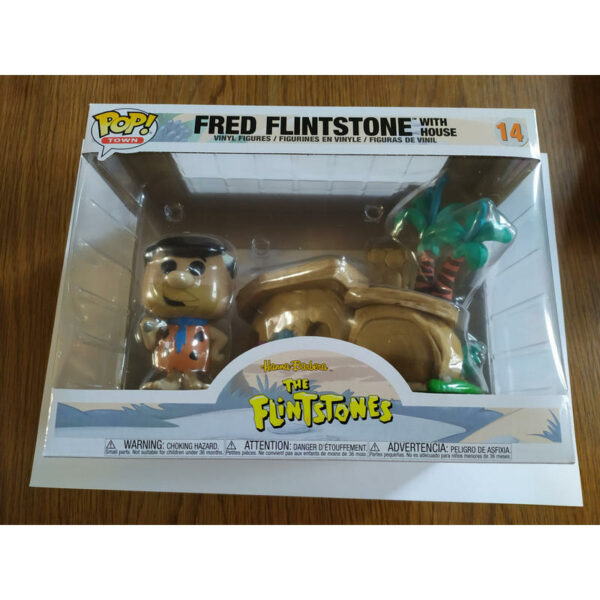 Figurine Pop Town 14 Fred Flinstone with house 1