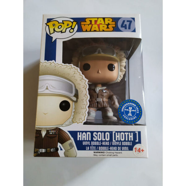 Figurine Pop Star Wars 47 Han Solo Hoth 1