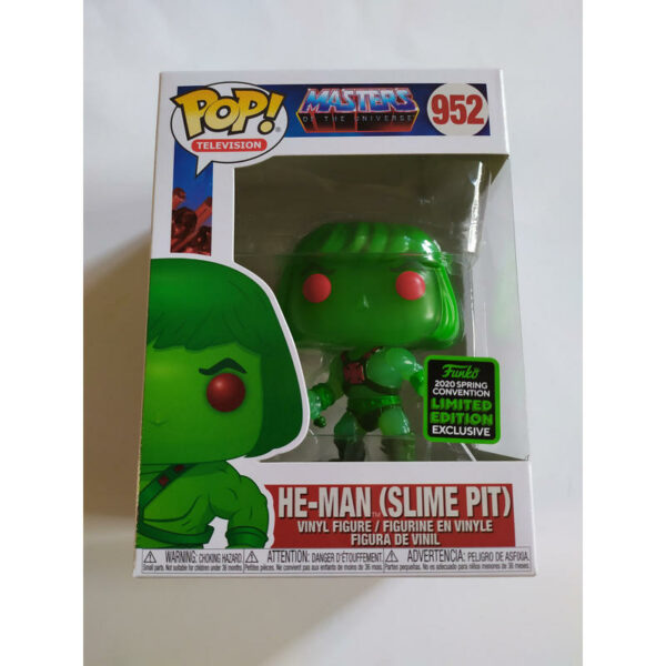Figurine Pop Masters of the Universe 952 He-Man (slime pit) 1