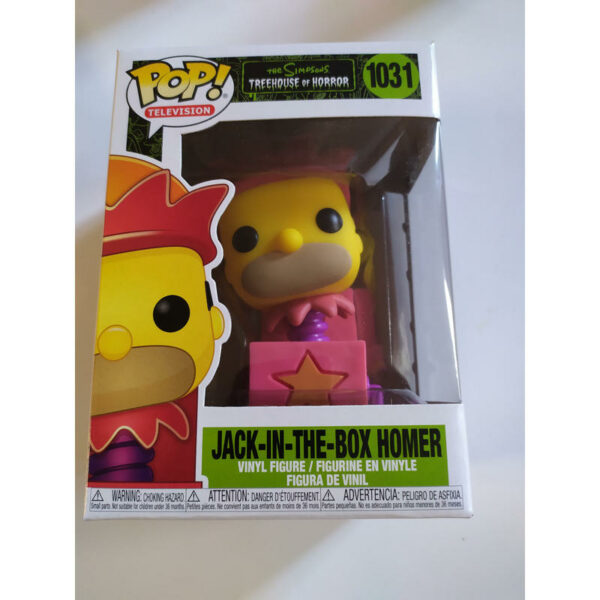 Figurine Pop The Simpsons 1031 Jack-in-the-box Homer