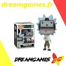 Figurine Pop Rick and Morty 741 Gamer Rick