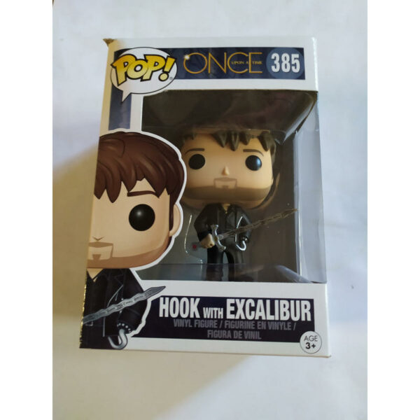 Figurine Pop Once Upon a Time 385 Hook with Excalibur (Not mint) 2