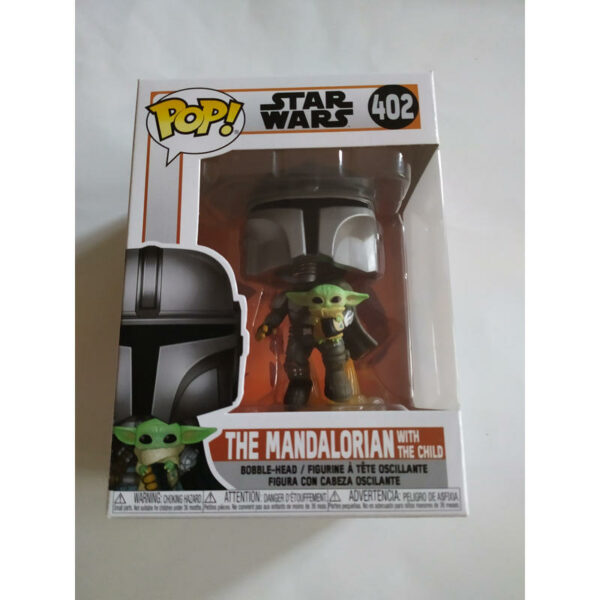 Figurine Pop The Mandalorian 402 with jet pack 1