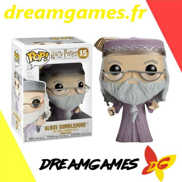 Figurine Pop Harry Potter 15 Albus Dumbledore