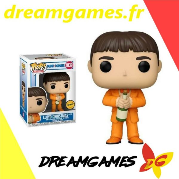 Figurine Pop Dumb and Dumber 1039 Lloyd Christmas in tux Chase