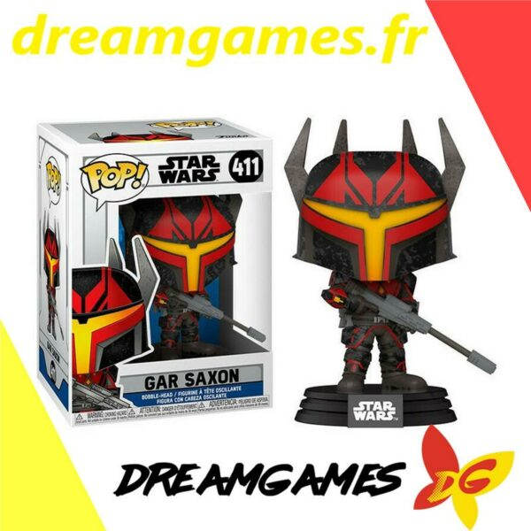 Figurine Pop Star Wars 411 Gar Saxon