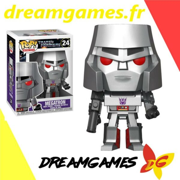 Figurine Pop Transformers 24 Megatron (Not mint) 1