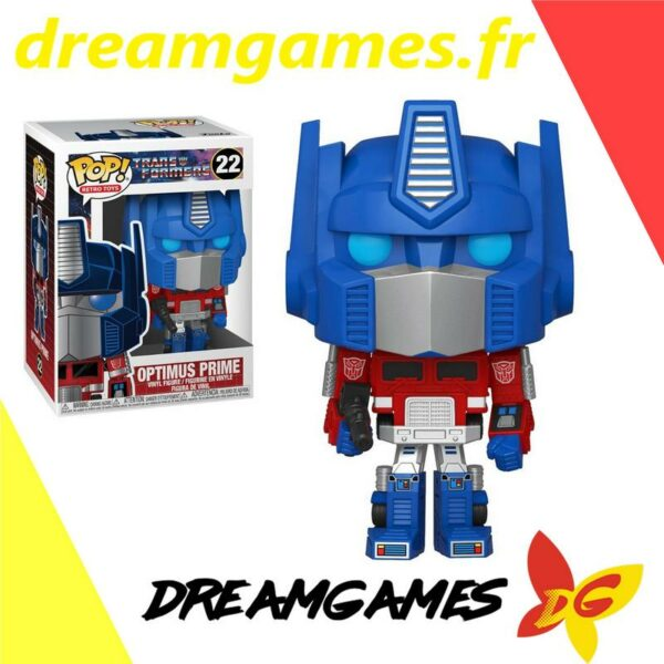 Figurine Pop Transformers 22 Optimus Prime