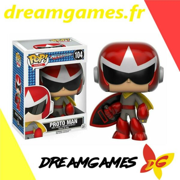Figurine Pop Megaman 104 Proto Man