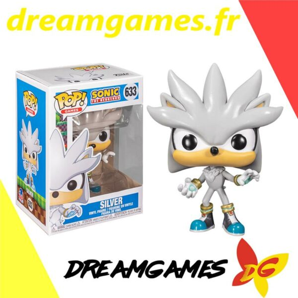 Figurine Pop Sonic 633 Silver
