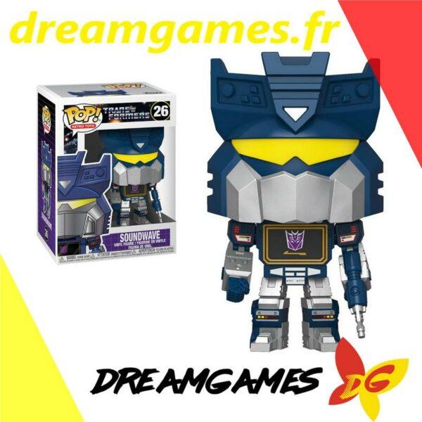 Figurine Pop Transformers 26 Soundwave