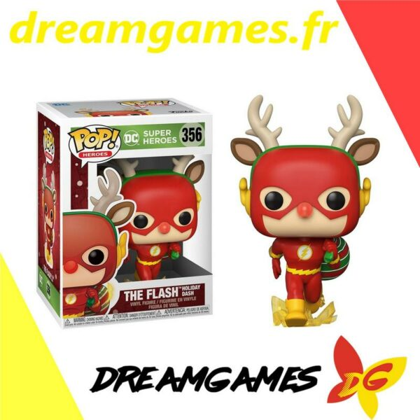 Figurine Pop DC 356 The Flash Holiday Dash