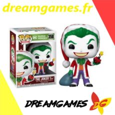 Figurine Pop DC 358 The Joker as Santa