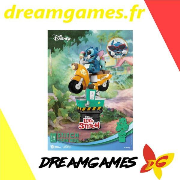 Diorama Stage 041 Stitch coin ride