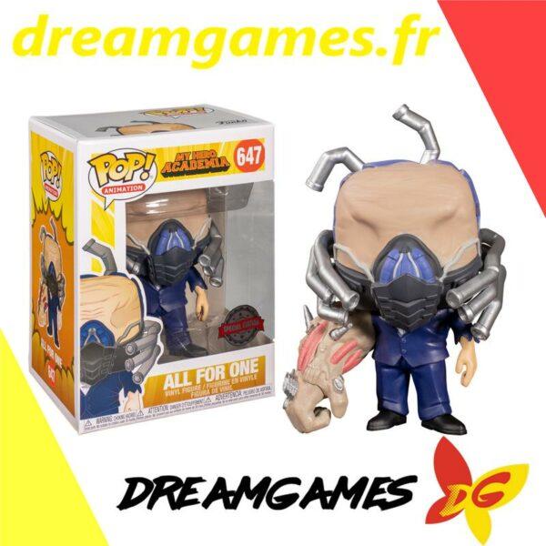 Figurine Pop My Hero Academia 647 All For One