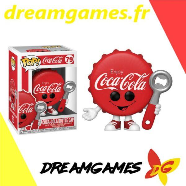 Figurine Pop Coca Cola 79 Bottle cap