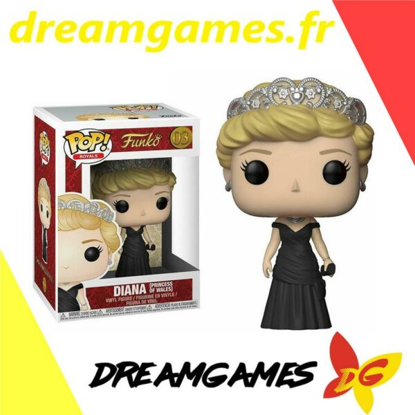 Figurine Pop Royals 03 Diana