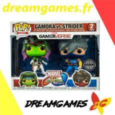 Figurines Pop Gamora vs Strider Gamerverse 2 pack