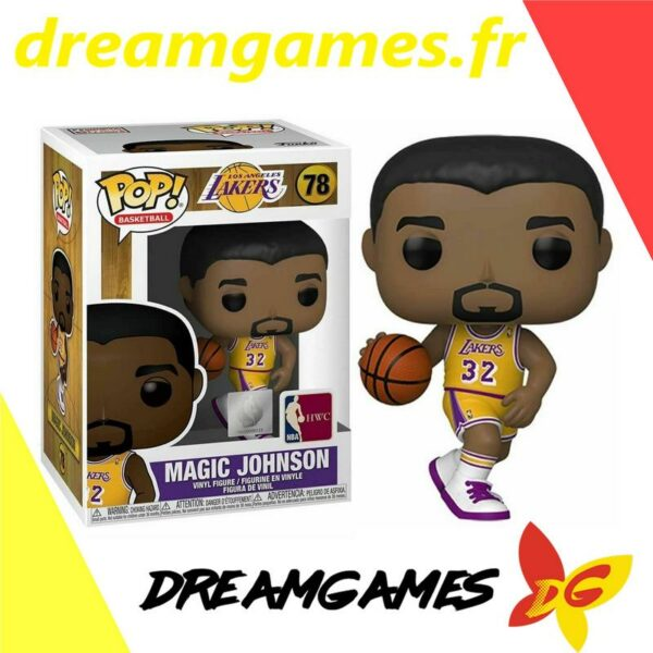 Figurine Pop NBA 78 Magic Johnson