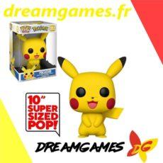 "Figurine Pop Pokemon 353 Pikachu 25 cm Super sized 10"""