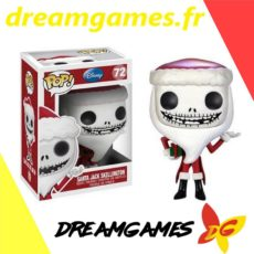 Figurine Pop Disney 72 Santa Jack Skellington