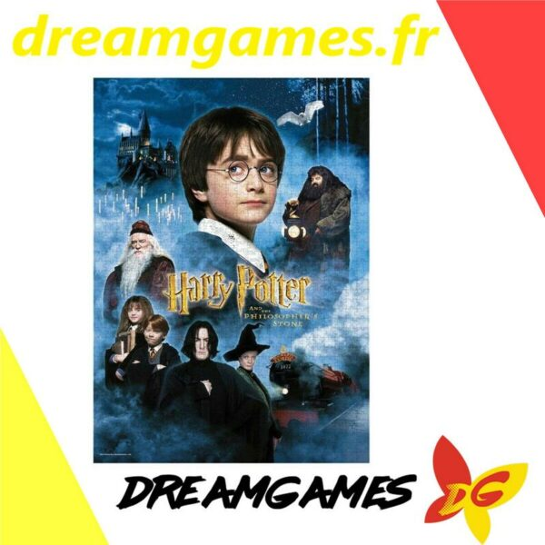 Puzzle Harry Potter and the Philosopher's stone 1000 pièces