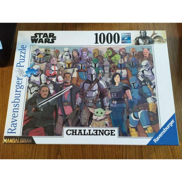 Puzzle 1000 pièces The Mandalorian Challenge 1