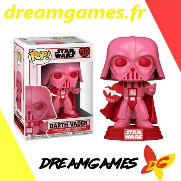 Figurine Pop Star Wars 417 Valentines Darth Vader with heart