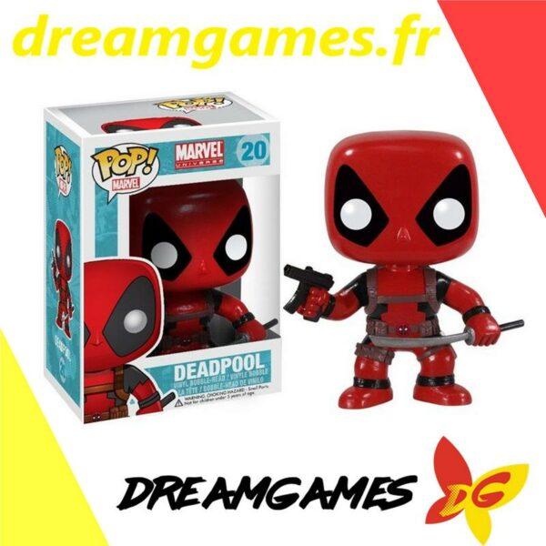 Figurine Pop Marvel 20 Deadpool