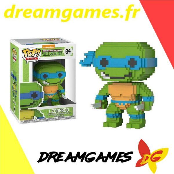 Figurine Pop TMNT 04 Leonardo 8-bit