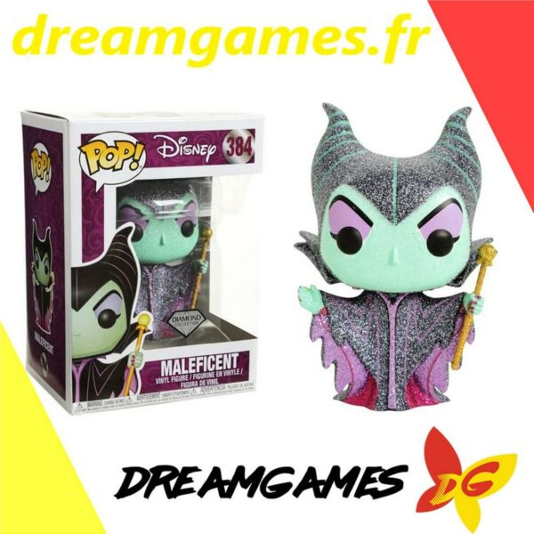 Figurine Pop Disney 384 Maleficent Diamond