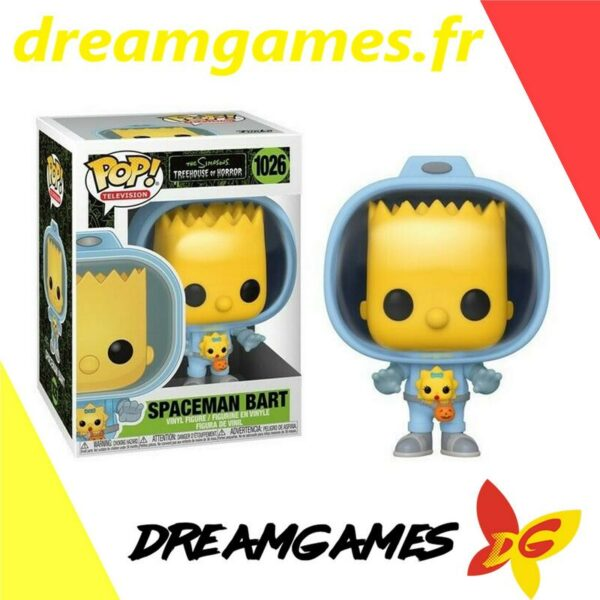 Figurine Pop The Simpsons 1026 Spaceman Bart