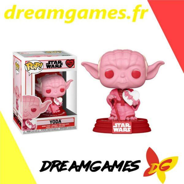 Figurine Pop Star Wars 421 Valentines Yoda with heart