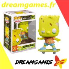 Figurine Pop The Simpsons 1027 Zombie Bart