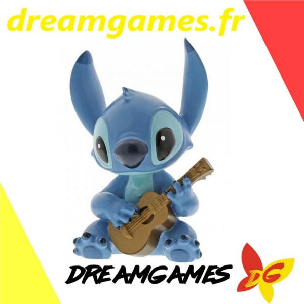 Figurine Disney Showcase Stitch with guitar