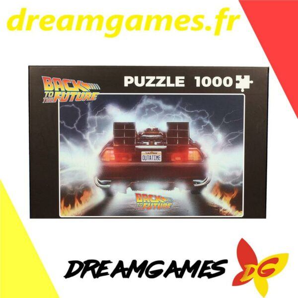 Puzzle 1000 pièces Back to the Future 1