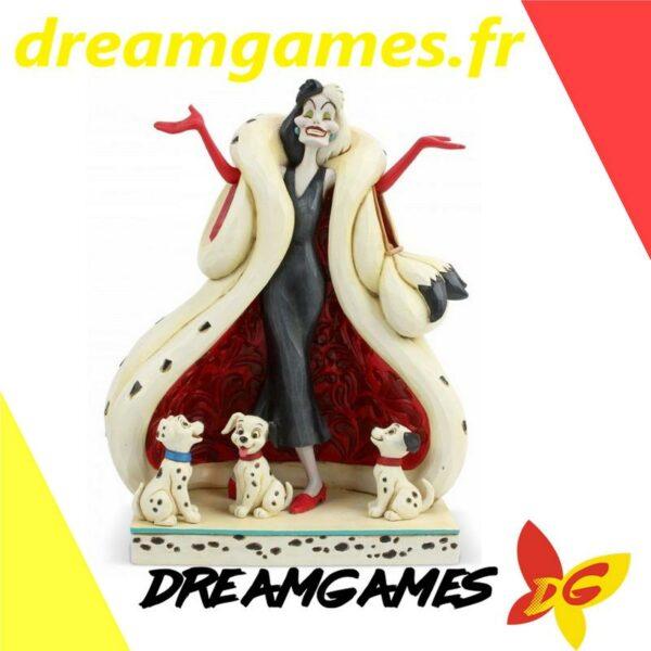 Figurine Disney Traditions Cruella and Puppies