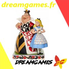 Figurine Disney Traditions Alice and the Queen of Hearts