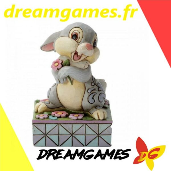 Figurine Disney Traditions Mini Thumper with flowers