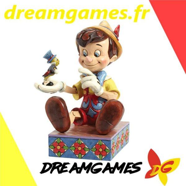 Figurine Disney Traditions Pinocchio and Jiminy Cricket 1
