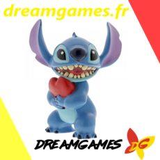 Figurine Disney Showcase Stitch with Heart