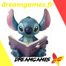 Figurine Disney Traditions Stitch with storybook