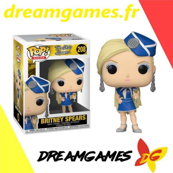 Figurine Pop Rocks 208 Britney Spears stewardess