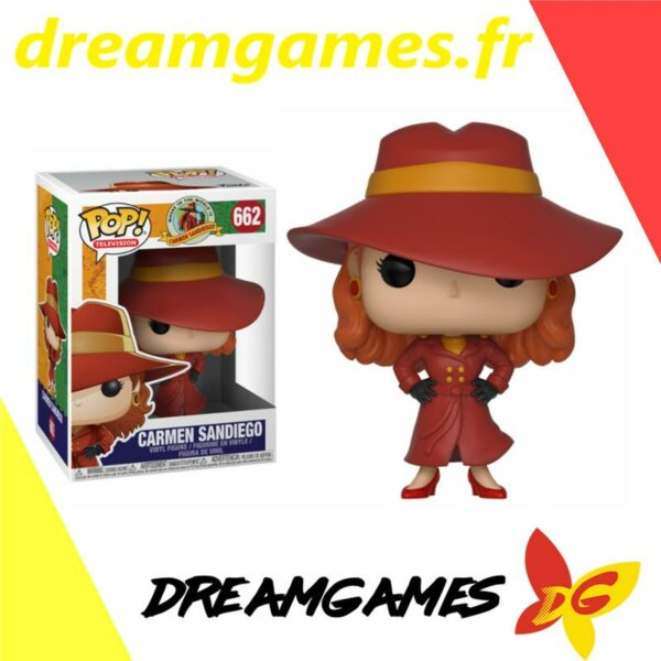 Figurine Pop Carmen Sandiego 662