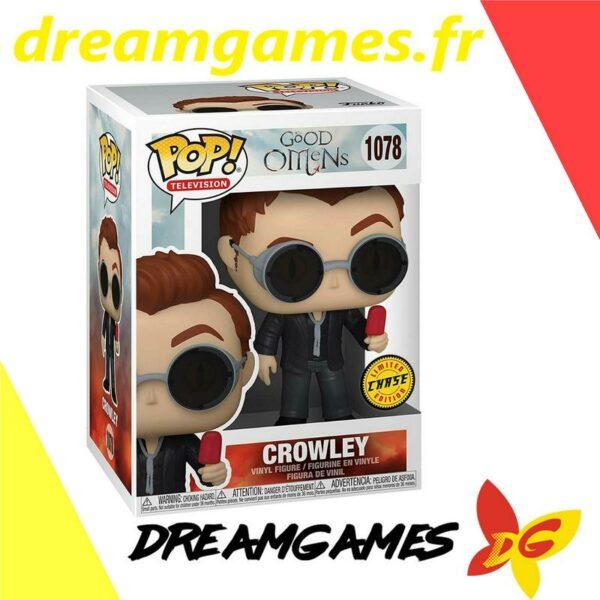 Figurine Pop Good Omens 1078 Crowley Chase 1