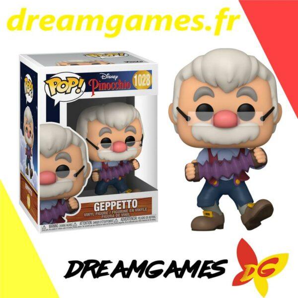Figurine Pop Pinocchio 1028 Geppetto