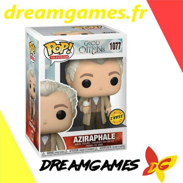 Figurine Pop Good Omens 1077 Aziraphale Chase