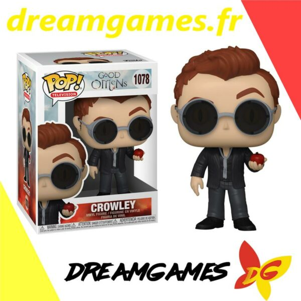 Figurine Pop Good Omens 1078 Crowley