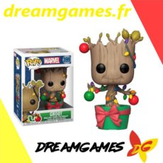 Figurine Pop Marvel 399 Groot with lights & ornaments